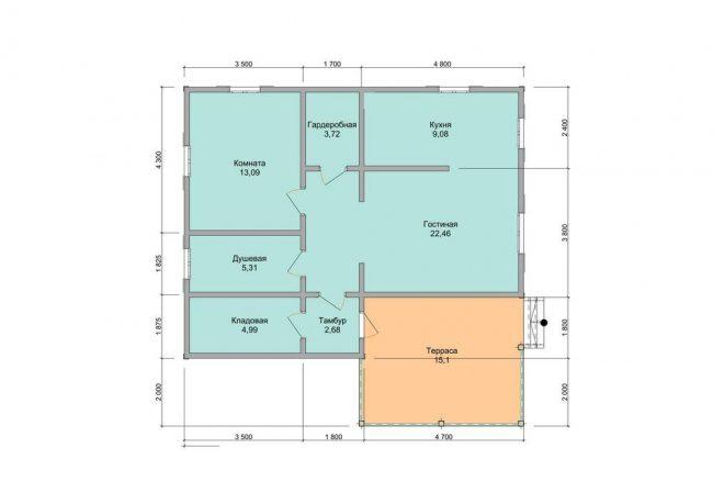 Проект дома №225