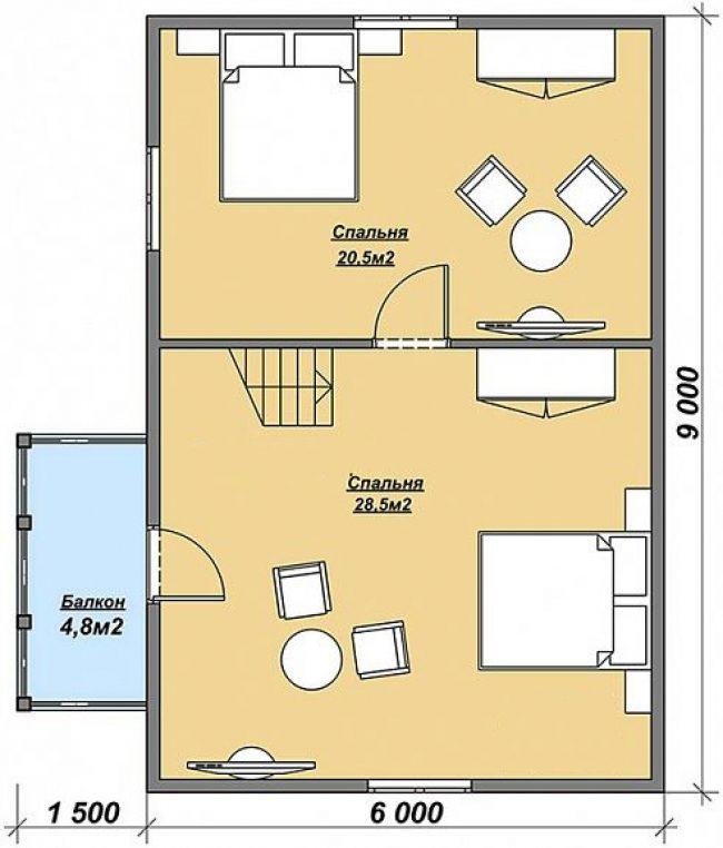 Проект дома №73