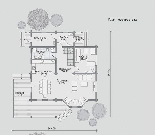 Проект дома №293