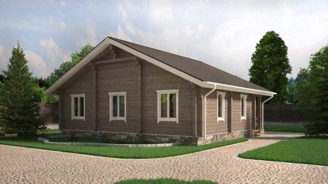 Проект дома №358