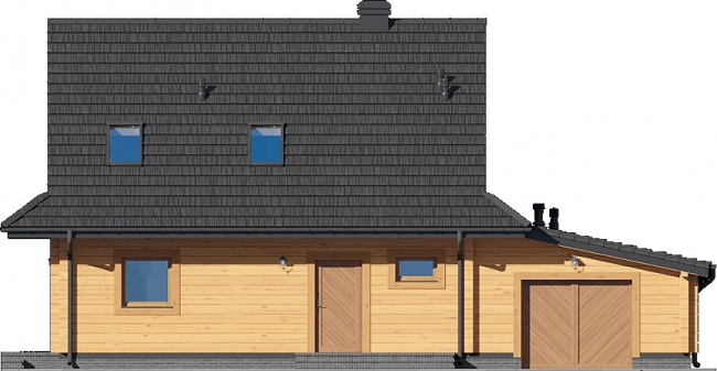 Проект дома №544