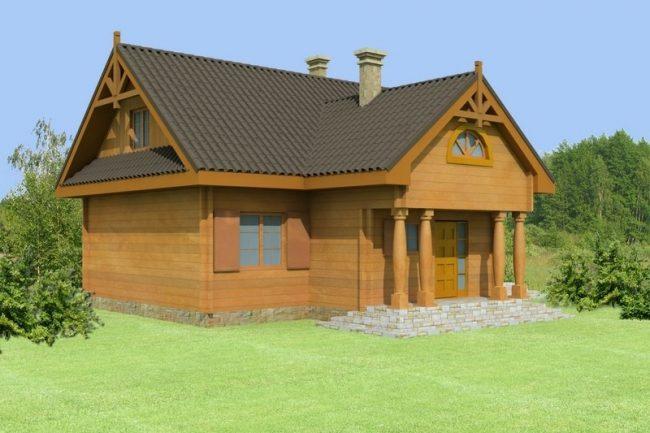 Проект дома №548