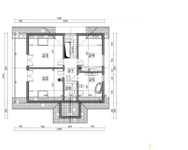 Проект дома №549