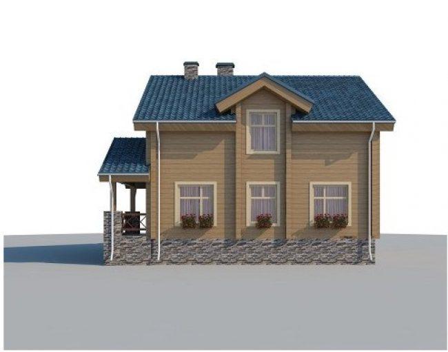 Проект дома №551