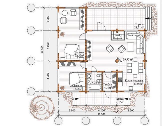 Проект дома №367