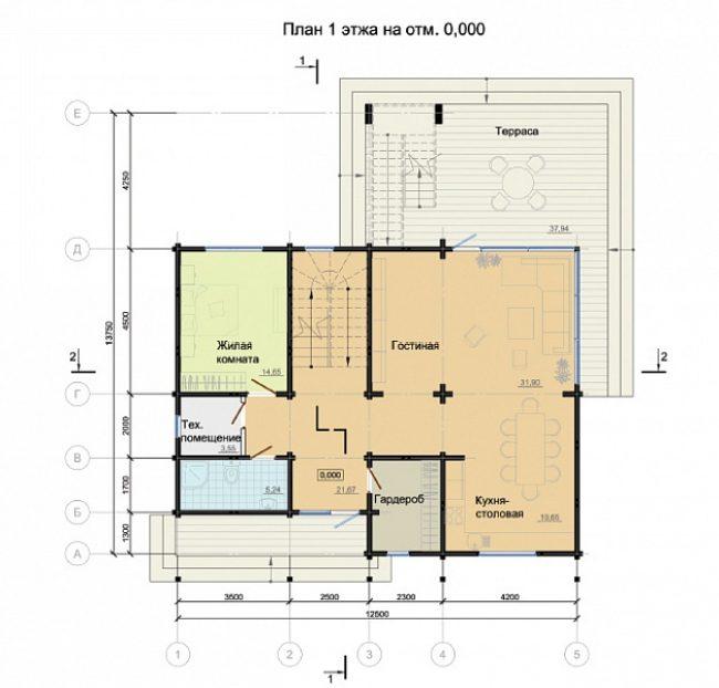 Проект дома №289