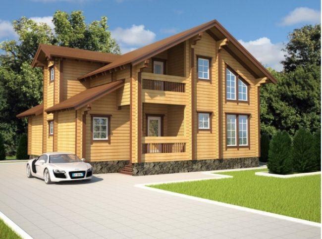 Проект дома №557
