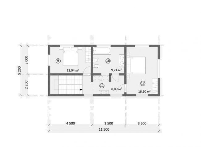 Проект дома №558