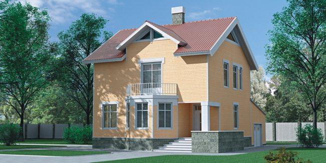 Проект дома №217