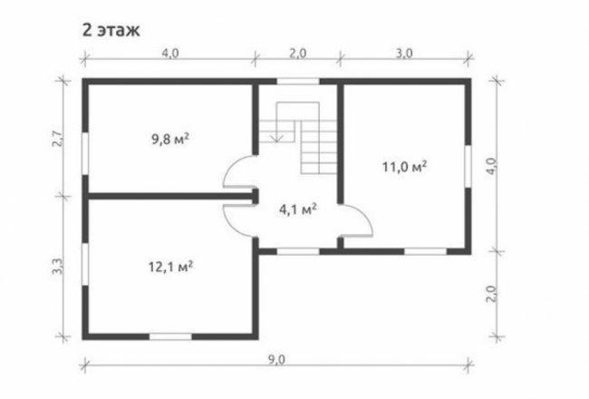 Проект дома №127