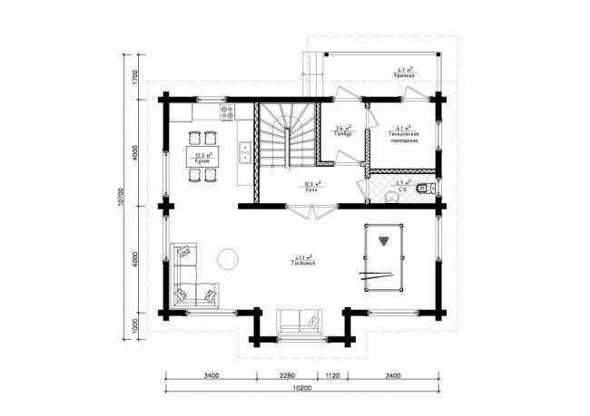 Проект дома №236