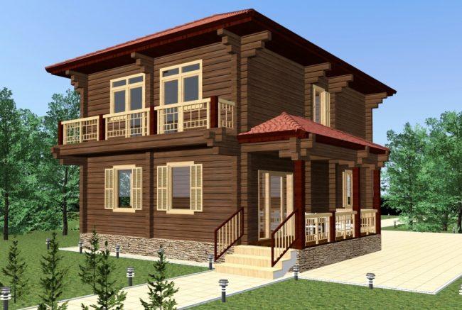 Проект дома №209