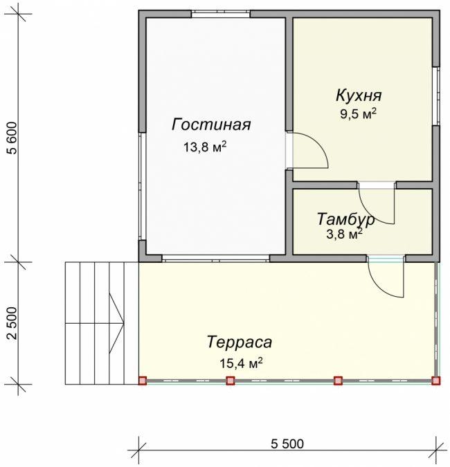 Проект дома №31