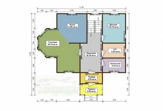 Проект дома №276