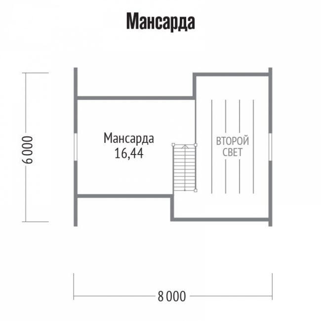 Проект бани-132