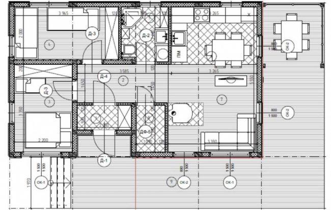 Проект дома №79