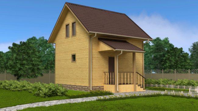 Проект дома №54
