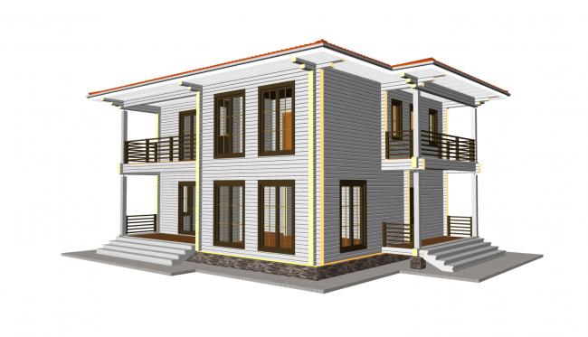 Проект дома №240