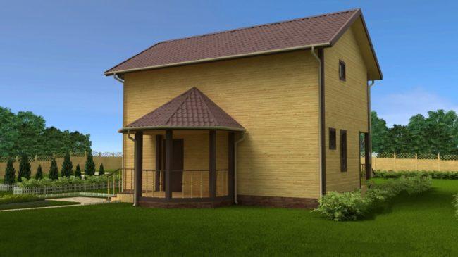 Проект дома №71