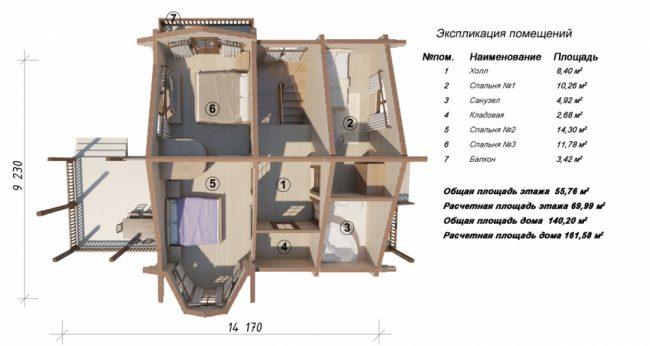 Проект дома №261