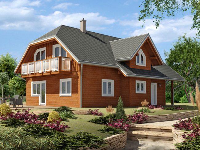 Проект дома №160
