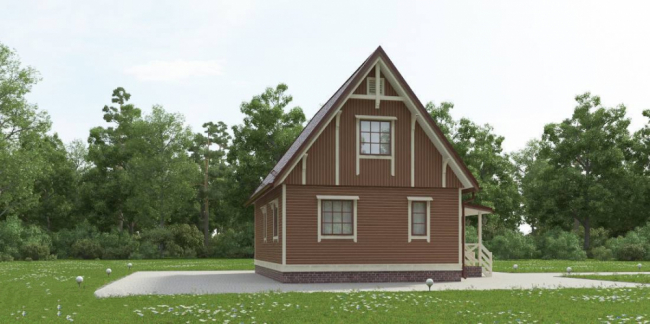 Проект дома №67