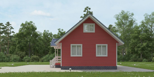 Проект дома №66