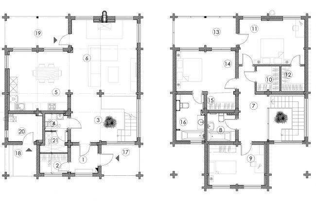 Проект дома №239