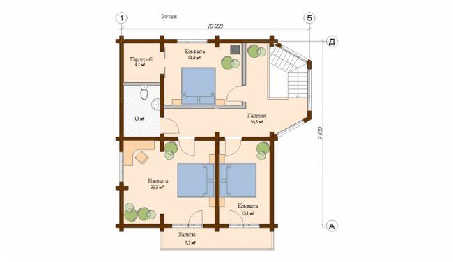 Проект дома №221