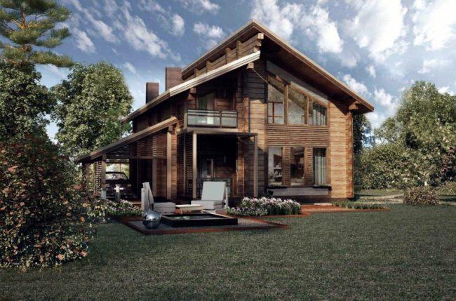 Проект дома №210