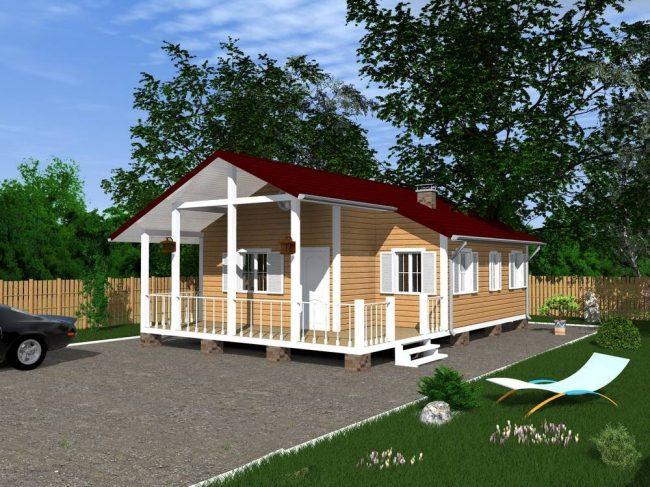 Проект дома №163