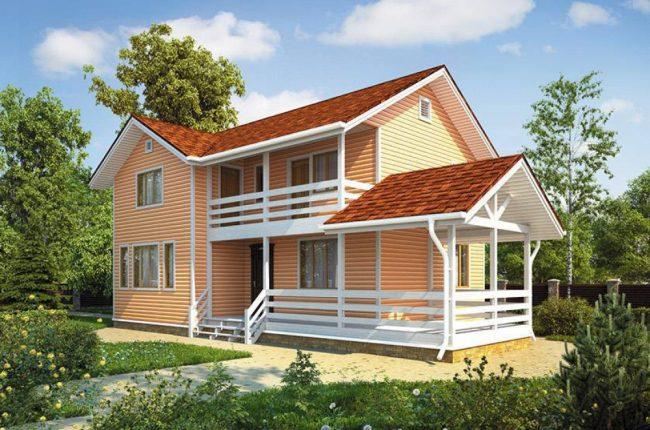 Проект дома №152