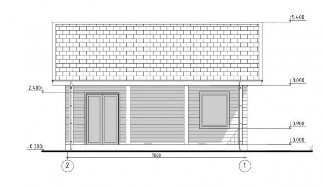 Проект дома №305