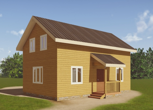 Проект дома №74