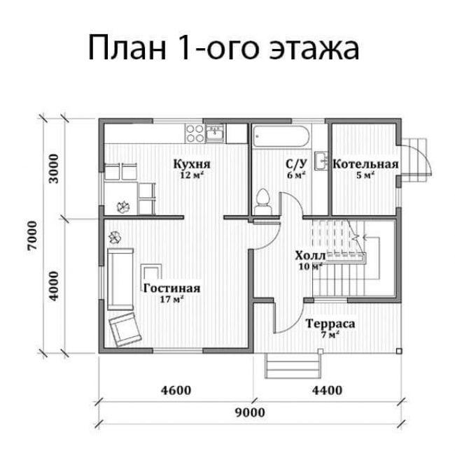 Проект дома №104