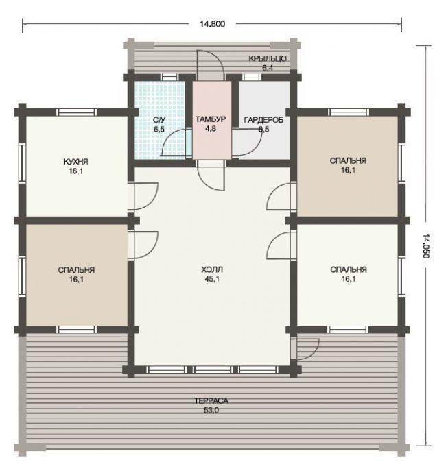 Проект дома №294