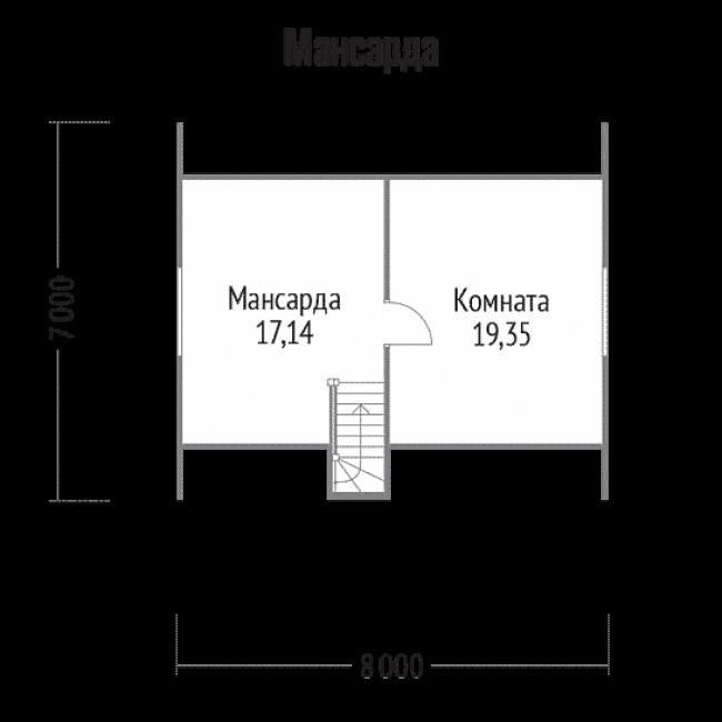 Проект дома №91