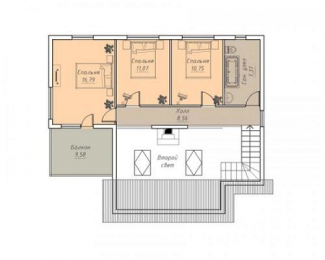 Проект дома №262