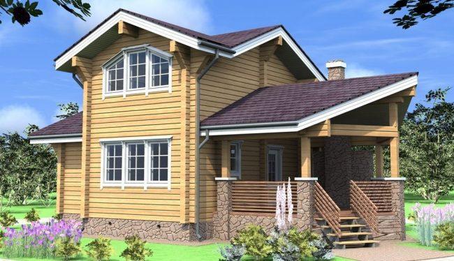 Проект дома №171