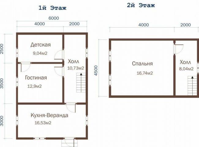 Проект дома №427