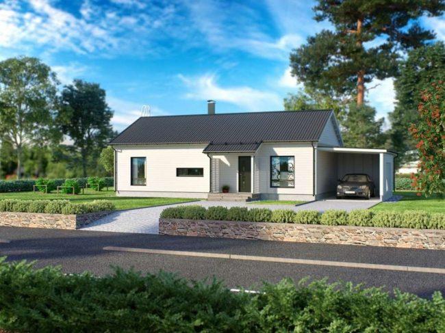 Проект дома №319
