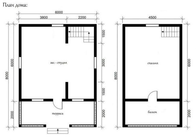 Проект дома №393