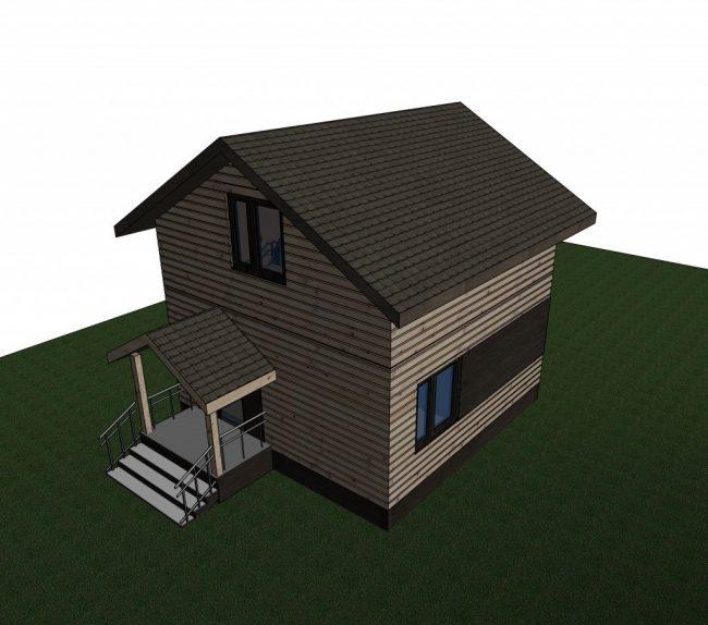 Проект дома №399