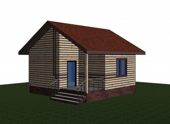 Проект дома №303