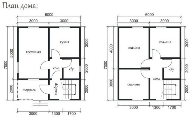 Проект дома №402