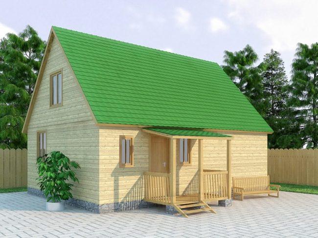 Проект дома №414