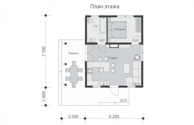 Проект дома №307