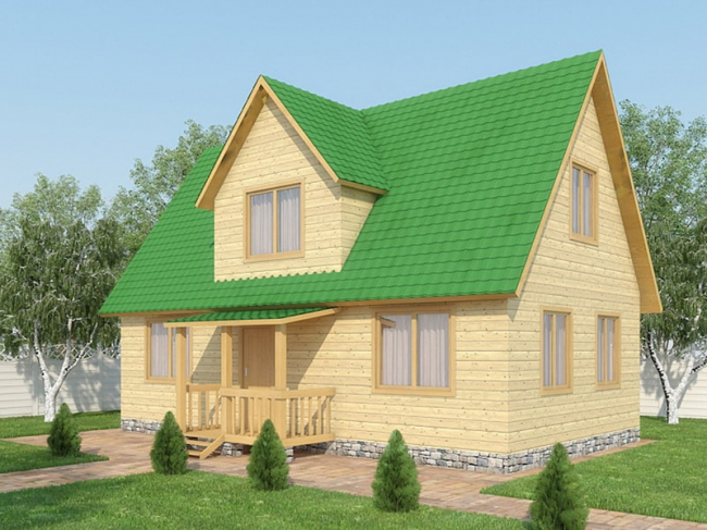 Проект дома №419