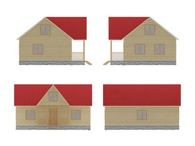 Проект дома №420