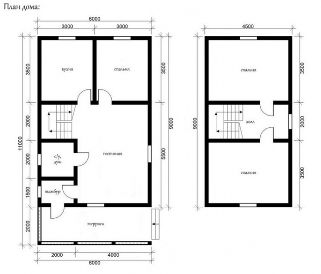 Проект дома №422
